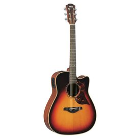 Yamaha Yamaha A3MVSHC Folk Cutaway Acoustic Electric Mahogany Vintage Sunburst w/ Case
