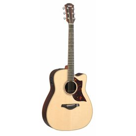 Yamaha Yamaha A3RHC Folk Cutaway Acoustic Electric Rosewood w/ Case