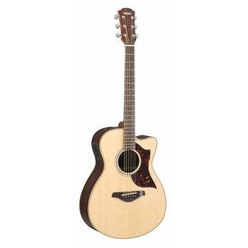 Yamaha Yamaha AC1RHC Small Body Cutaway Acoustic Electric Rosewood w/ Case