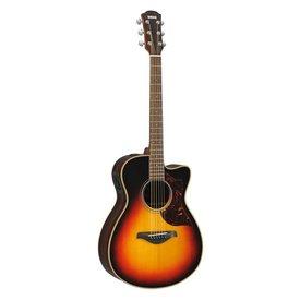 Yamaha Yamaha AC1RVSHC Small Body Cutaway A/E Rosewood Vintage Sunburst Guitar w/ Case