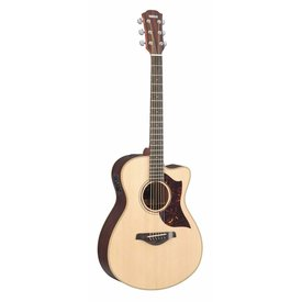 Yamaha Yamaha AC3RHC Small Body Cutaway Acoustic Electric Rosewood w/ Case