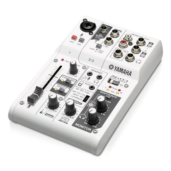 Yamaha Yamaha AG03 3-Channel, Mixer/Usb Interface for iOS/Mac/Pc