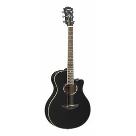 Yamaha Yamaha APX500III BL Black Thinline Acoustic Electric Cutaway