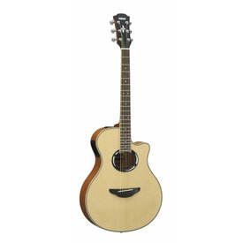 Yamaha Yamaha APX500III NA Natural Thinline Acoustic Electric Cutaway