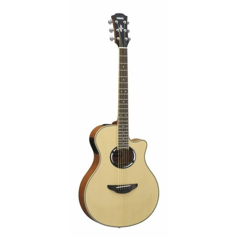 Yamaha APX500III NA Natural Thinline Acoustic Electric Cutaway