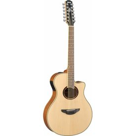 Yamaha Yamaha APX700II-12 12 String Natural Thinline Acoustic Electric Cutaway