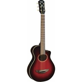 Yamaha Yamaha APXT2 DRB Dark Red Burst APX Thinline Acoustic Electric Cutaway Guitar
