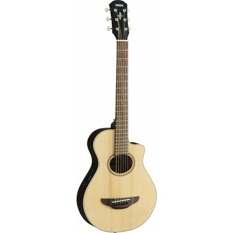 Yamaha APXT2 NA Natural APX Thinline Acoustic Electric Cutaway Guitar