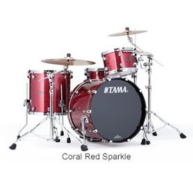 TAMA Tama PP32RZSCRD Starclassic Performer B/B Shell Kit Coral Red Sparkle