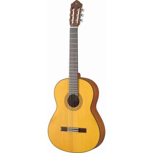 Yamaha Yamaha CG122MSH Classical Guitar Spruce Top Lower Action