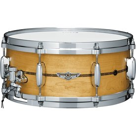 "TAMA Tama TLM146SOMP Star Snare Solid Maple 6"" X 14"