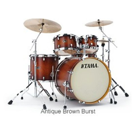 Tama VP52KRSABR Silverstar Drum Kit Antique Brown Burst