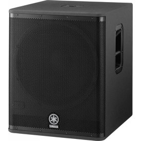 "Yamaha Yamaha DSR118W Powered Subwoofer - 800 Watts, 18"" Woofer"