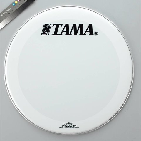 "Tama SW22BMTT 22"" Bass Drum Head Smooth White"