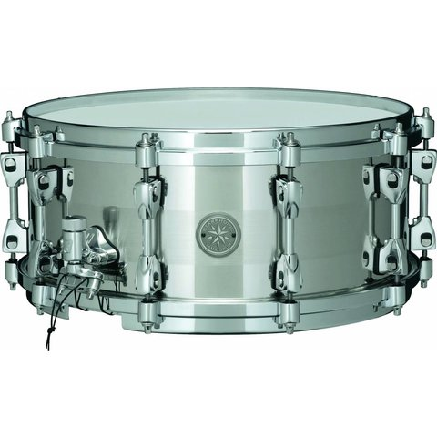 """Tama PSS146 Starphonic 6"""" X 14"""" Stainless Steel Snare Drum"""