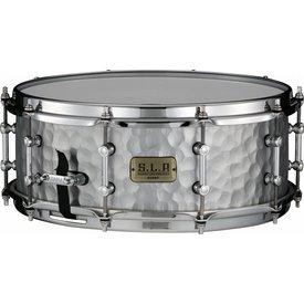 TAMA Tama LST1455H S.L.P. Vintage Hammered Steel 5.5X14 Snare Drum