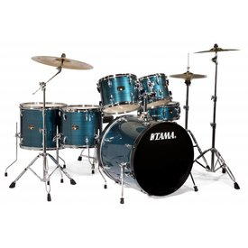 TAMA Tama IP62CHLB Imperialstar w/Cymbals Hairline Blue