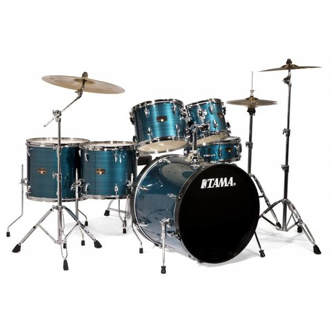 Tama IP62CHLB Imperialstar w/Cymbals Hairline Blue