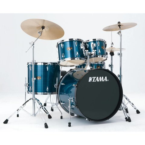 Tama IP52KCHLB Imperialstar w/Cymbal Hairline Blue