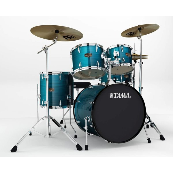 TAMA Tama IP50CHLB Imperialstar w/Cymbals Hairline Blue