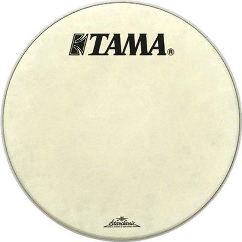 "Tama FB20BMFS Starclassic 20"" White Fiber Logo Head"