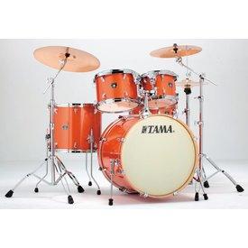 TAMA Tama CK52KSBOS Superstar Custom Maple 5Pc Shell Kit Bright Orange Sparkle