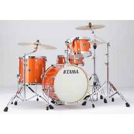 TAMA Tama CK48SBOS Superstar Classic 4Pc Shell Kit Bright Orange Sparkle