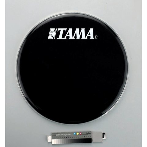 "Tama BK22BMWS 22"" Black Bass Drum Front Head"
