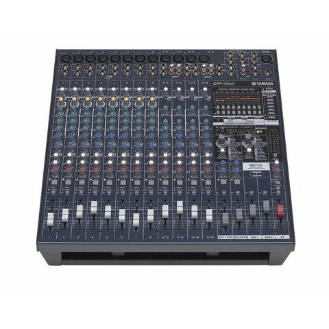 Yamaha EMX5016CF 16 Input Powered Mixer w/ Dual 500 Watt Power Amp