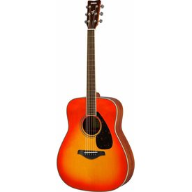 Yamaha Yamaha FG820 AB Autumn Burst Folk Guitar Solid Top Mahogany Back & Sides