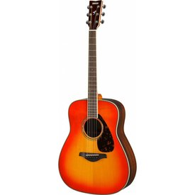 Yamaha Yamaha FG830 AB Autumn Burst Folk Guitar Solid Top Rosewood Back & Sides