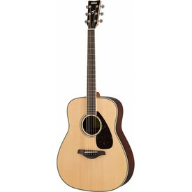 Yamaha Yamaha FG830 Natural Folk Guitar Solid Top Rosewood Back & Sides