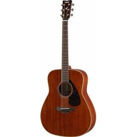 Yamaha Yamaha FG850 Natural Folk Guitar Mahogany w/ Solid Mahogany Top