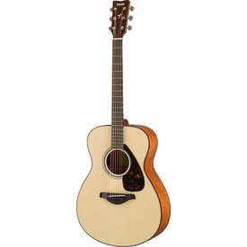 Yamaha Yamaha FS800 Natural Small Body Guitar Solid Top