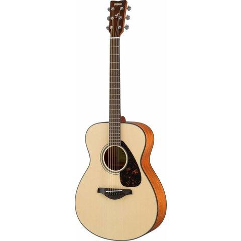 Yamaha FS800 Natural Small Body Guitar Solid Top