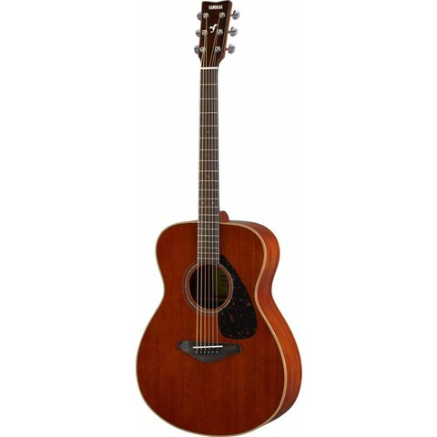Yamaha FS850 Natural Small Body Guitar Mahogany w/ Solid Mahogany Top