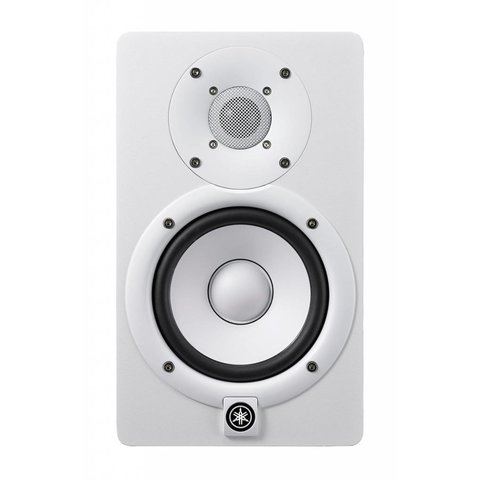 """Yamaha HS5 W 5"""" Powered Studio Monitor, White"""
