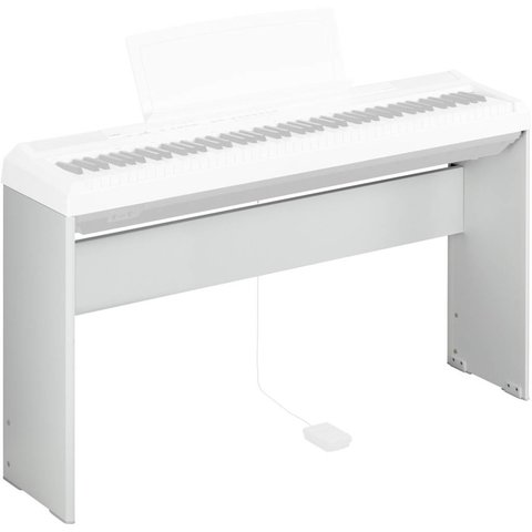 Yamaha L85WH White, Wood Keyboard Stand for P105WH