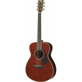 Yamaha Yamaha LS16RDARKTINTEDHC L Series Rosewood Small Body Acoustic Guitar w/ Passive Pickup w/ Case; Dark Tinted