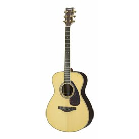 Yamaha Yamaha LS16RHC L Series Rosewood Small Body Acoustic Guitar w/ Passive Pickup w/ Case