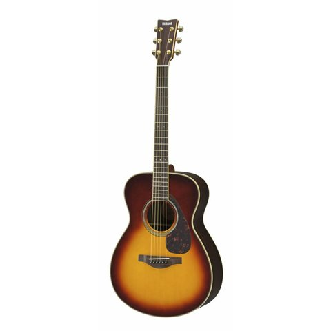 Yamaha LS6RBSHC L Series Rosewood Small Body Acous/Elec, Brown Sunburst w/ Case