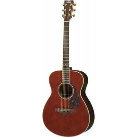 Yamaha Yamaha LS6RDARKTINTEDHC L Series Rosewood Small Body Acoustic Guitar w/ Passive Pickup w/ Case; Dark Tinted