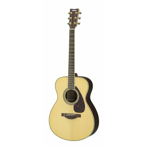 Yamaha LS6RHC L Series Rosewood Small Body Acoustic w/ Passive Pickup w/ Case