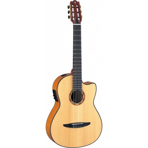 Yamaha NCX2000FM NCX Acoustic-Electric Classical Guitar w/ Flamed Maple Top