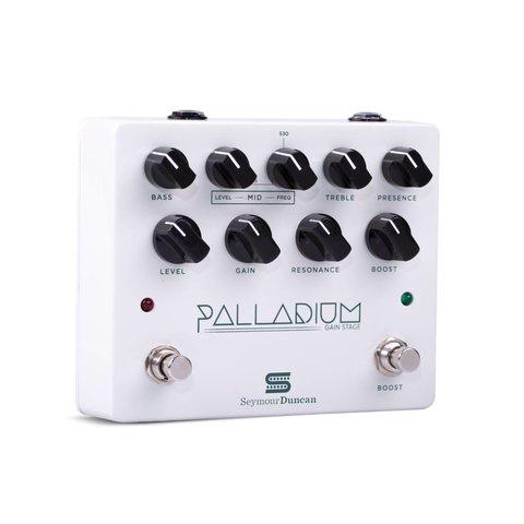 Seymour Duncan 11900-009W Palladium Gain Stage Pedal, White