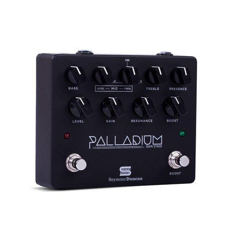 Seymour Duncan 11900-009B Palladium Gain Stage Pedal, Black
