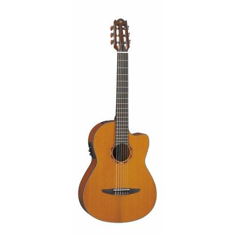 Yamaha NCX700C NCX Cedar Top Acoustic-Electric Classical Guitar