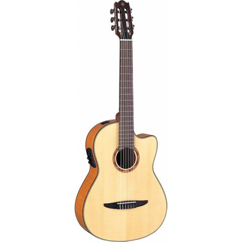 Yamaha NCX900FM NCX Acoustic-Electric Classical Guitar w/ Flamed Maple Top