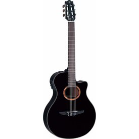 Yamaha Yamaha NTX700BL NTX Acoustic-Electric Classical Guitar W/ Black Finish