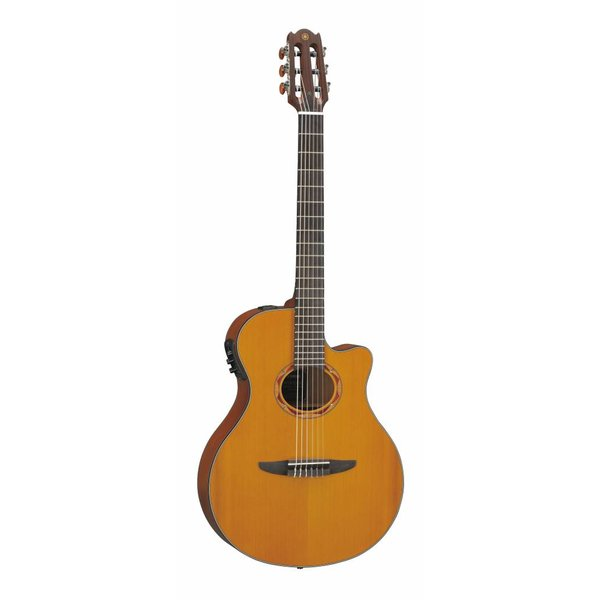 Yamaha Yamaha NTX700C NTX Cedar Top Thin Line Acoustic-Electric Classical Guitar